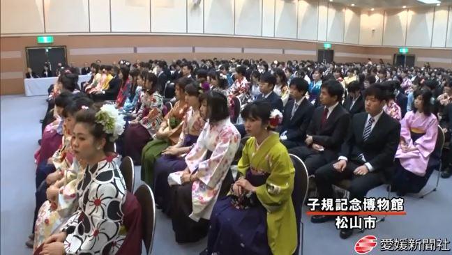H28卒業式愛媛新聞